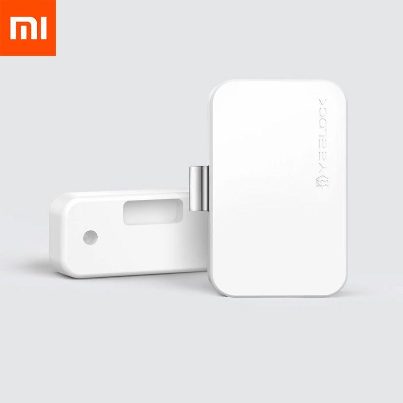 Nouveau Xiaomi YEELOCK Smart tiroir armoire serrure sans clé Bluetooth APP déverrouiller Anti-vol enfant sécurité fichier sécurité tiroir interrupteur