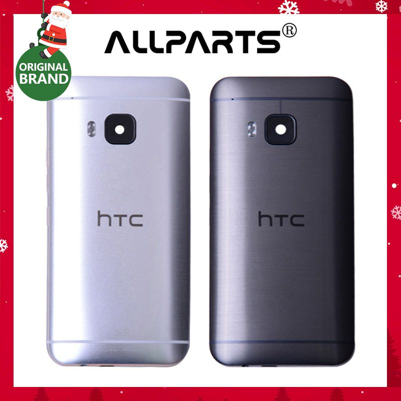 Original New Metal Rear Housing Door For HTC One M9 Back Battery Cover Case with Volume + Power Button + Camera Lens Assembly