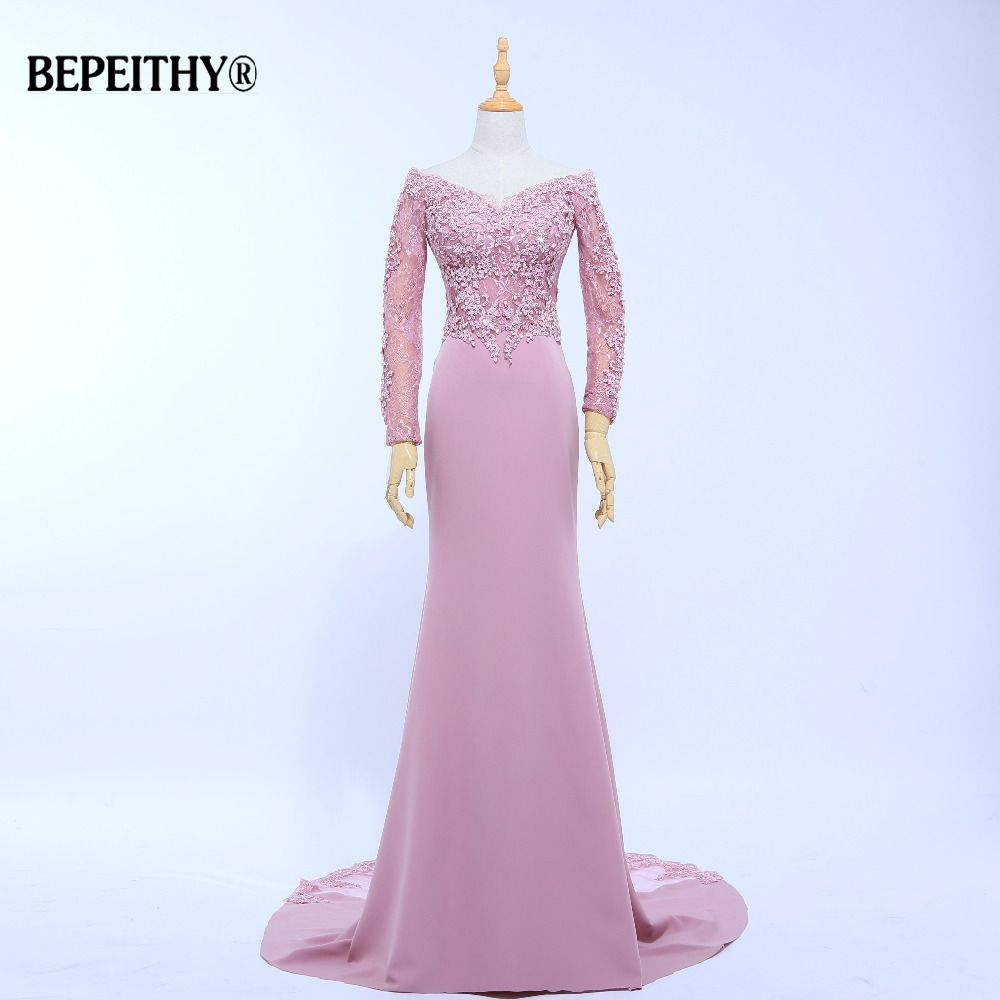 Nueva llegada vestido de festa v-cuello sirena Vestidos de dama de honor longitud del piso por encargo largo vestidos del partido barato Vestidos 2017 Nuevo