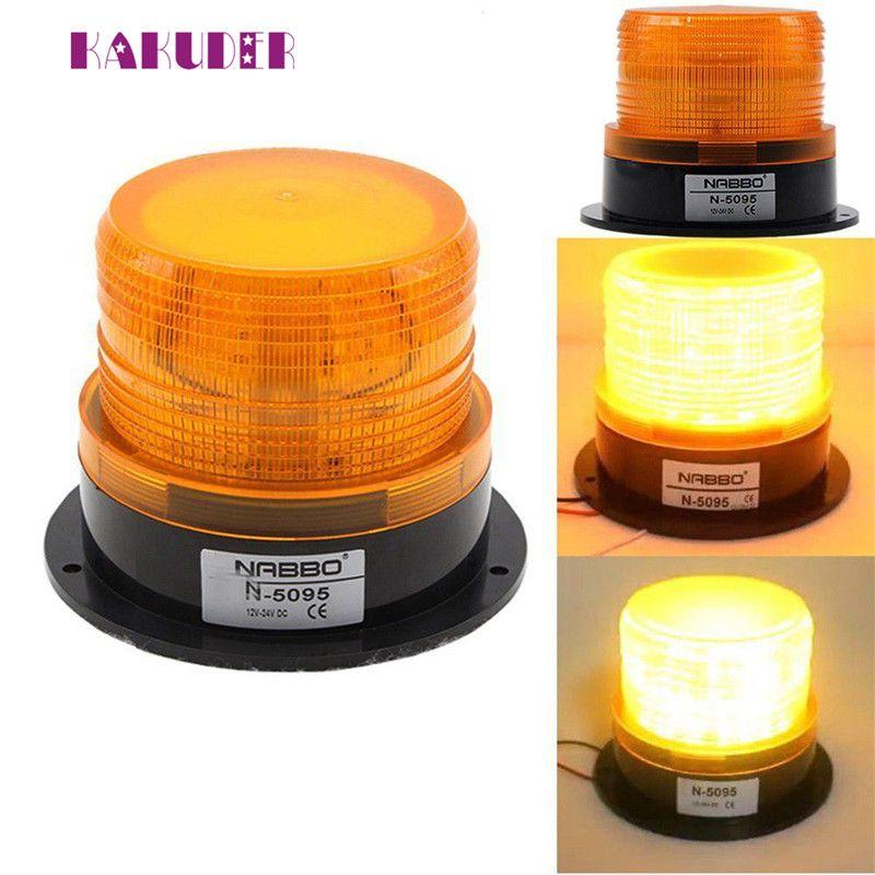 LED Car Warning Light Emergency Light Bulb Amber Flashing 12V-24V Luz Ligero quality NEW HOT Car Light sep23