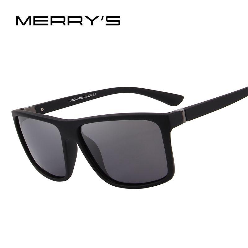 MERRY'S DESIGN <font><b>Men</b></font> Polarized Sunglasses Fashion Male Eyewear 100% UV Protection S'8225