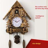 Reloj Cuco moderno reloj de pared sala de estar reloj despertador de 20 pulgadas reloj de bolsillo oscilante de calidad