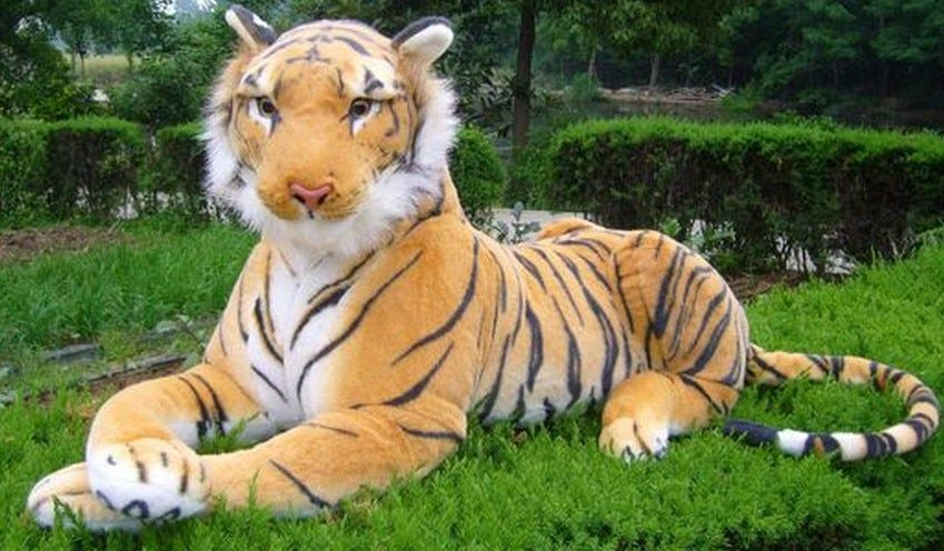 Free shipping The simulation tiger toy plush soft toy 130cm size big size Christmas gift Soft Stuffed Toy