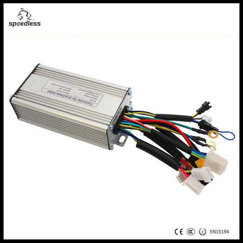 9 MOS 24V/36V/48V max 25A sine wave controller/dc motor controller/electric bike controller