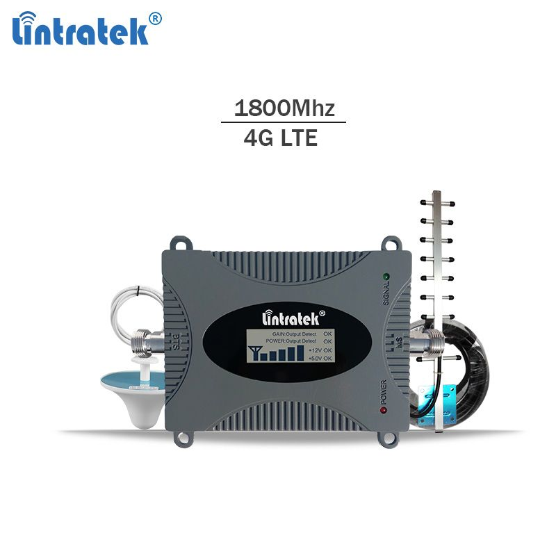 Lintratek 4g lte signal booster dcs 1800 mhz repeater gsm 4g mobile signal repeater 1800mhz cellular signal amplifier Band 3 #6