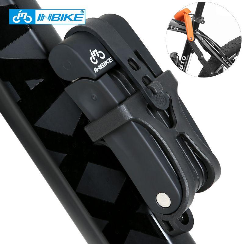 INBIKE Anti-cisaillement de 12 tonnes coupe hydraulique cyclisme vtt vélo serrure Anti-vol moto serrure vélo électrique partie chaîne serrure