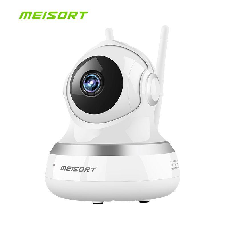HD 720 P caméra IP de sécurité à domicile bidirectionnelle Audio sans fil Mini caméra 1MP Vision nocturne CCTV WiFi caméra bébé moniteur
