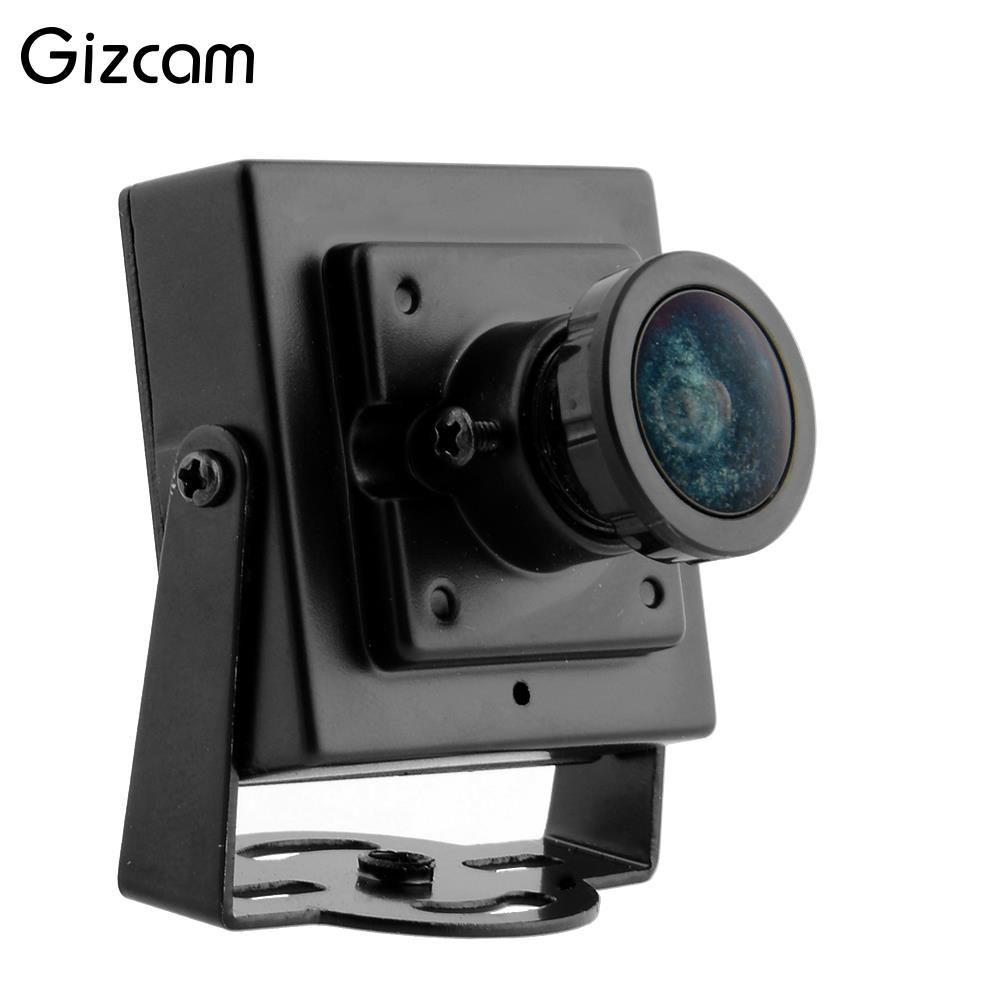 Gizcam FPV Mini Digitale Vedio Kamera HD 700TVL Mini Camcorder für Luftaufnahmen Schwarz Weitwinkel