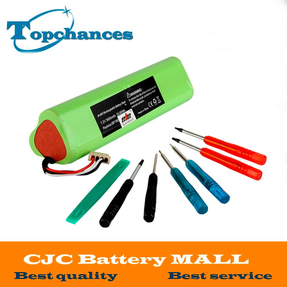 High Quality NI-MH 7.2V 3600mAh Replacement battery for Fluke BP190 BP-190 190B B1142 Fluke scopemeter 192 battery With Tools