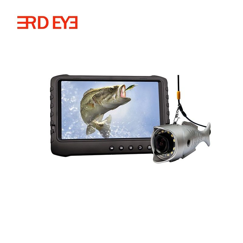 Free shipping 2MP HD video fish finder fishing camera for sea fishing,ice fishing