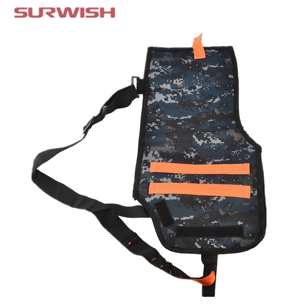 Surwish Teams Supplementary Bag Tactical Blaster Sleeve for Nerf Elite Series - Camouflage