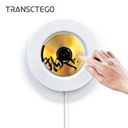 Wall Mountable Bluetooth CD Player Portable Speaker Pull Switch With Remote Speaker FM Radio USB Drive CD DVD VCD WMA AVI Player