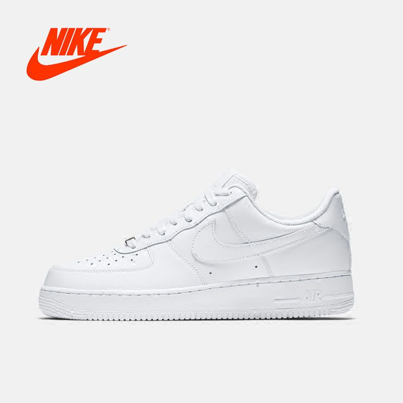 Original Neue Ankunft Authenti Nike AIR FORCE 1 '07 Herren Skateboard Schuhe Turnschuhe Atmungsaktivem