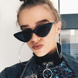 2018 New Fashion Cute Sexy Ladies Cat Eye Sunglasses Women Vintage Brand Small Sun Glasses Female Oculos de sol UV400