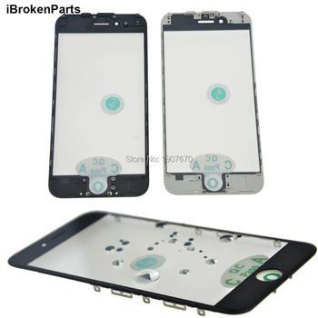 NOUVEAU AAA + Froid Presse LCD de Remplacement Avant Tactile En Verre Extra Objectif avec cadre OCA film pour iphone 8 7 6 6 s plus 5S 5g 5c