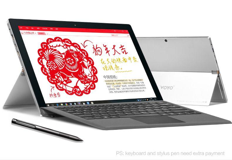 VOYO i7plus intel i7 7500U Big Screen HD 2880*1920 8G RAM 256GB SSD Support windows tablet Stylus Pen 12.6