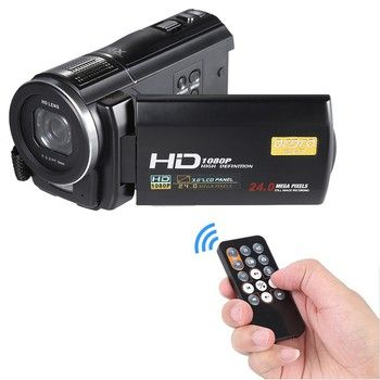 16X Zoom 24MP Digital Camera Video Camcorder 3.0 inch LCD Touch Screen Professional Recording DV Camcorders Big Discount 4pcs