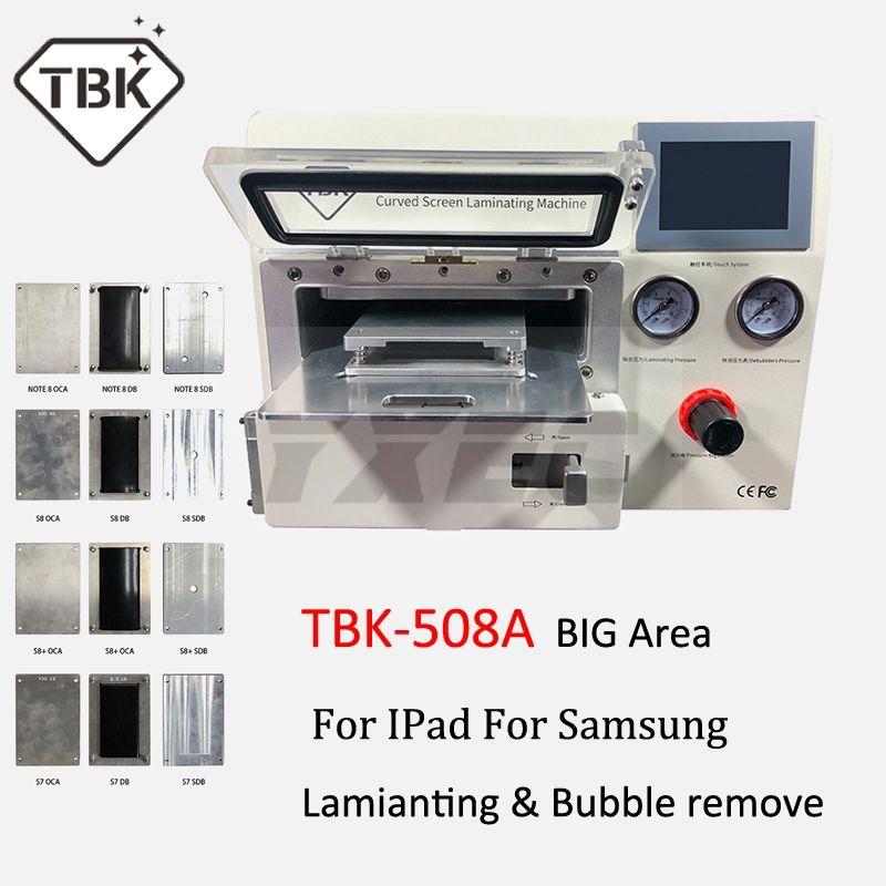2019 TBK-508A Gebogene LCD Bildschirm Vakuum Laminieren Maschine für Sumsung iPhone iPad S9 S9 + Rand LCD OCA Reparatur blase entferner