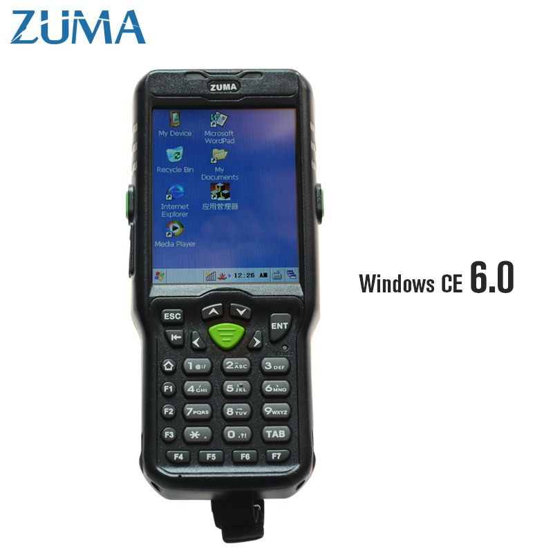 2-dimensional +OS Windows CE 6.0 +Wifi+Bluetooth+512 ram Mobile Handheld Terminal Data Collector inventory Logistics PDA 8200