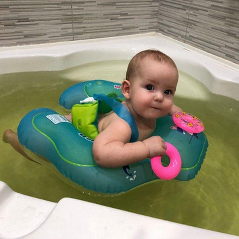 Bebé Natación inflable infantil axila flotante niños nadar piscina Accesorios círculo baño doble inflable balsa Anillos juguete