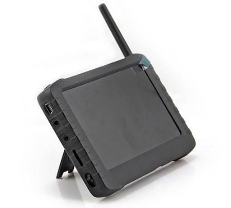Récepteur sans fil Portable 1.2 Ghz 2.4 Ghz 5.8 Ghz avec récepteur vidéo 5 pouces FPV moniteur LCD prenant en charge la carte TF 32 GB