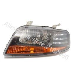 Lampu Kiri untuk Chevrolet Aveo 3 5 Pintu 2003 2004 2005 2006 2007 2008 Lampu Depan Sisi Pengemudi-Hitam Hatchback