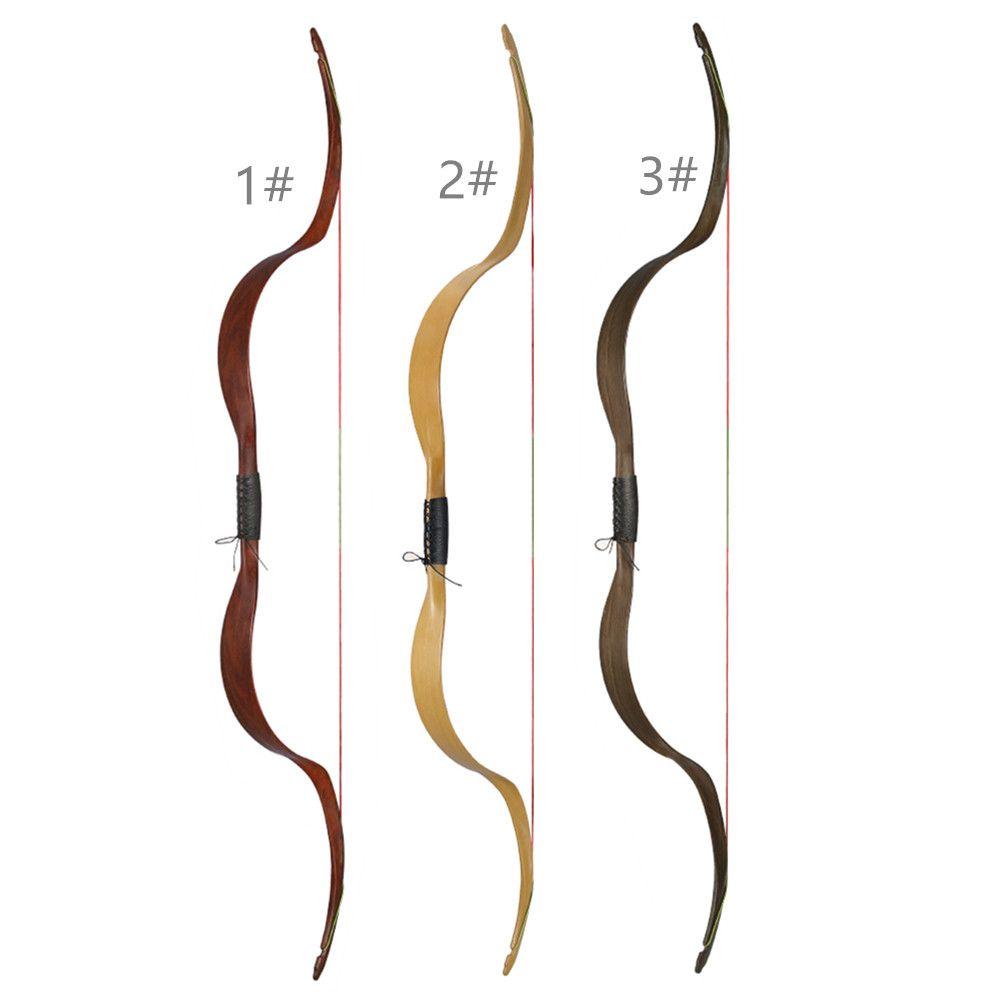 1X NIKA Archery Traditional Recurve Bows ET-4 Meng Yuan Bow 48