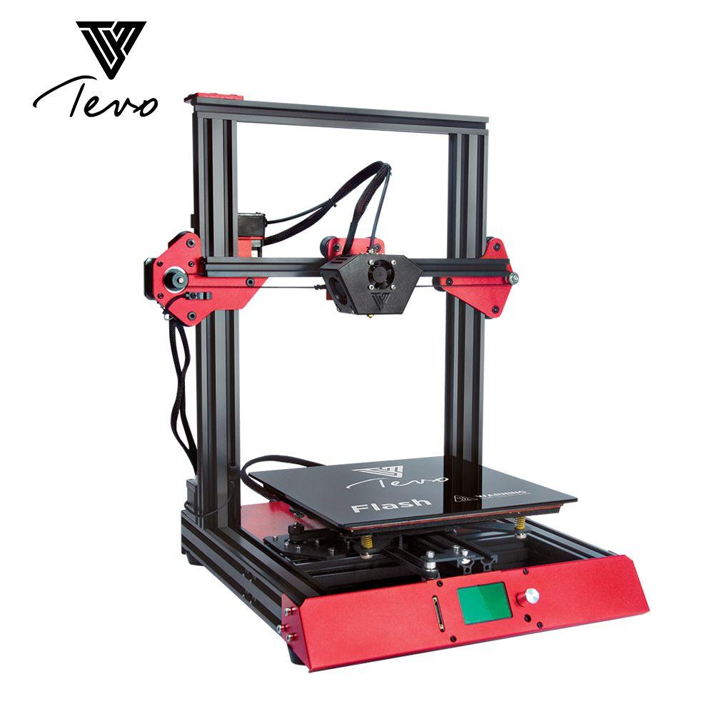 Neue Ankunft Tevo-3D Drucker Kit 50% Prebuild Große Druck Größe Maschine für Multi 3D Druck Filament ABS PLA 1,75mm