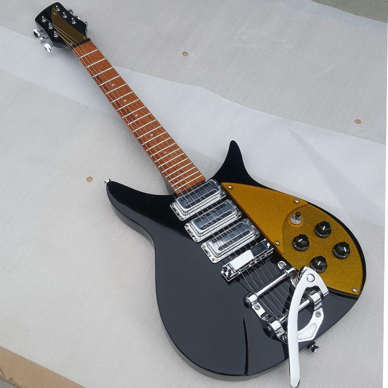 Hohe qualität Drei pickup ankunfts-rickenbacker 325 e-gitarre, Geben die unterschrift, Echte fotos, freies verschiffen werbeaktivitäten