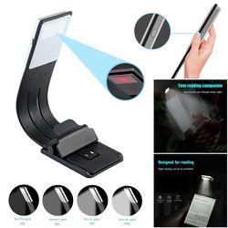 Portable LED lectura libro luz con desmontable clip flexible USB recargable lámpara para Kindle/ebook lectores-M25