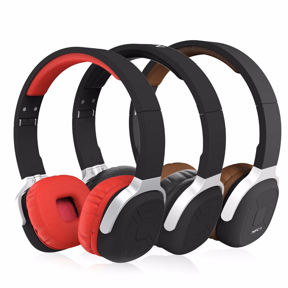 New Bee Sport Wireless Bluetooth Headphones Foldable Portable Headset with Pedometer App Mic NFC Stereo Earphone for Phone PC