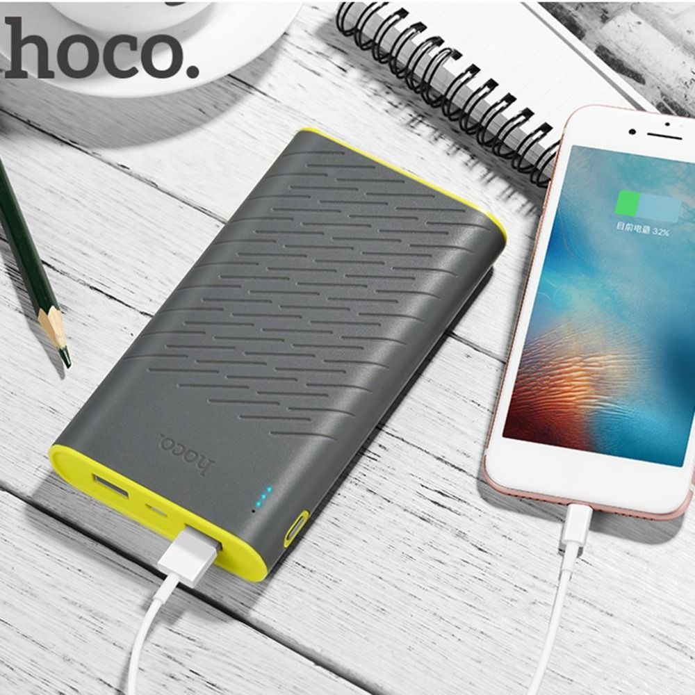 HOCO Power Bank  20000mah portable 18650 power bank Mobile Phone powerbank 20000 mAh fast Charging external battery backup