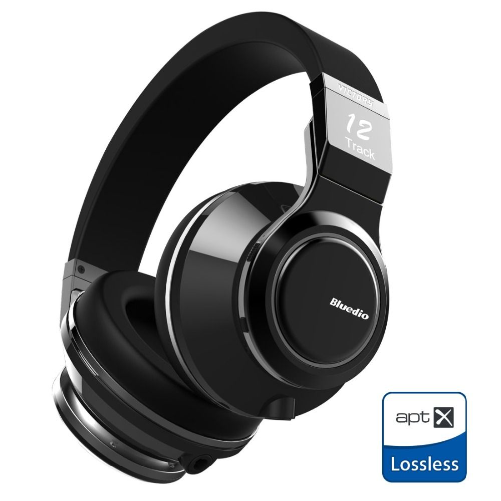 New Original <font><b>Bluedio</b></font> V (Victory) Wireless Bluetooth Headphones with PPS 12 drivers and microphone supports APTX Headset