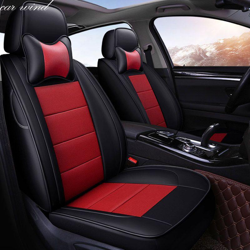 Auto Wind Auto autos rindsleder auto sitzbezug Für Mitsubishi Lancer Outlander Pajero Eclipse asx autozubehör