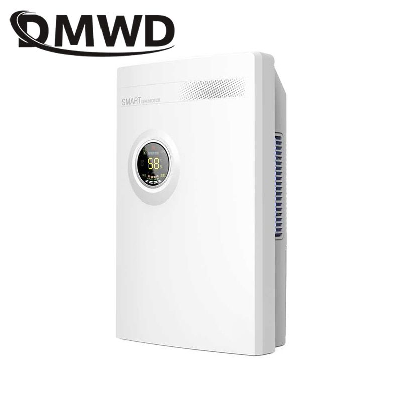 DMWD Intelligent Dehumidifier Moisture absorber ultra-quiet timing Drainage Machine air dryer Home Bathroom air purifier 2200ml