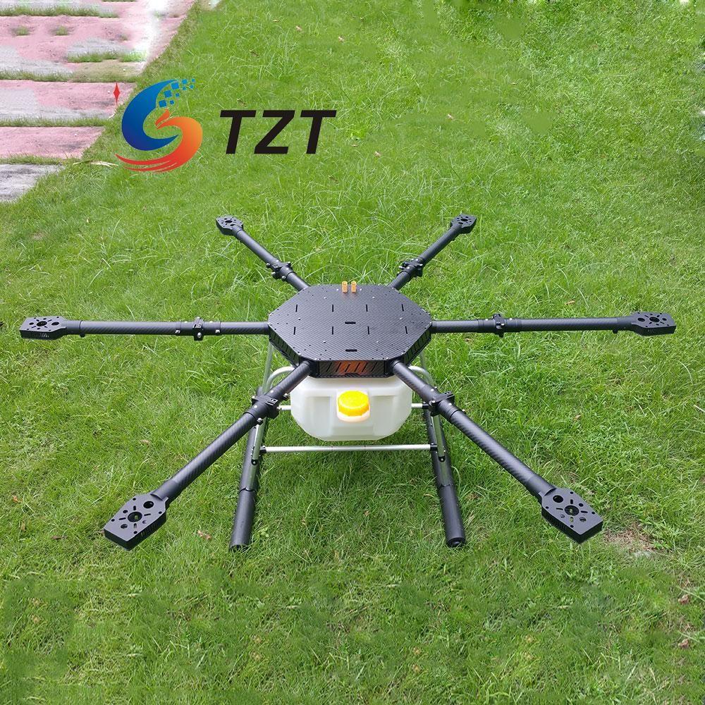 FPV Hexacopter 6 Achsen Kohlefaser Pflanzenschutz Drone Radstand 1600mm für Landwirtschaftliche Produktion