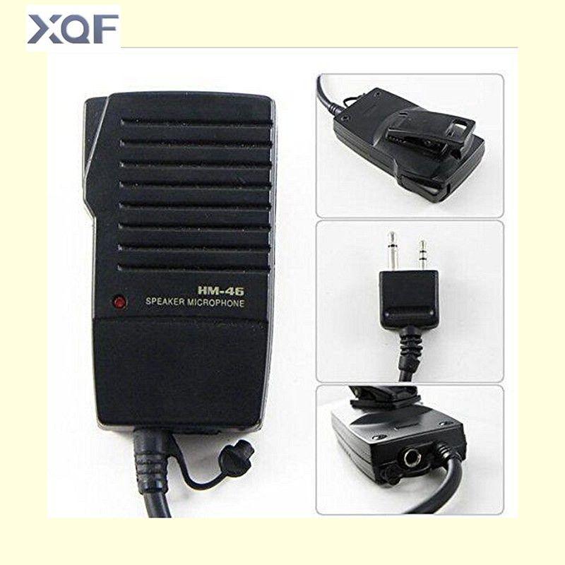 HM-46 Handheld Lautsprecher Mic für ICOM IC-V8 V82 V85 IC-T2H T8A 2AT E90 W32A Radio