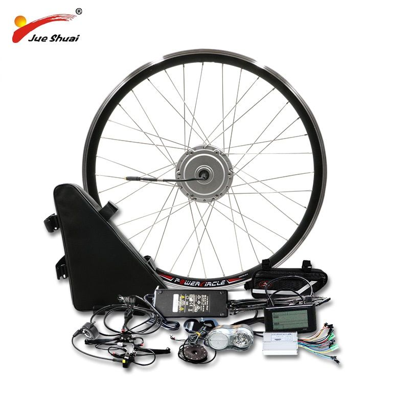 BAFANG Motor Rad 48 V 500 W Electric Bike Conversion Kit mit 48V20AH Lithium-Batterie 8fun BMP Getriebe Motor 26