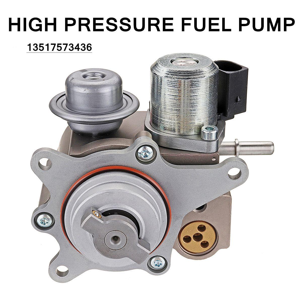 High Pressure Fuel Pump 13517573436 For BMW Mini-Cooper S Turbocharged R55 R56 R57 R58 R59 6V-16V -40-85Degree 12.6x9.4x10cm