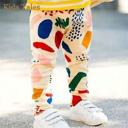 PK-015 Eceran 2019 Musim Semi Baru Anak Popok Anak Celana Warna-warni Longgar Bayi Perempuan Celana Legging Infantis
