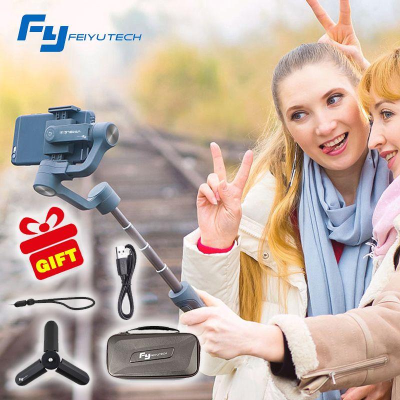 Feiyu vimble 2 vimble2 Smartphone 3-Axis Handheld Gimbal Stabilizer for iPhone X Gopro Hero sjcam cam xiaomi PK Zhiyun Smooth Q