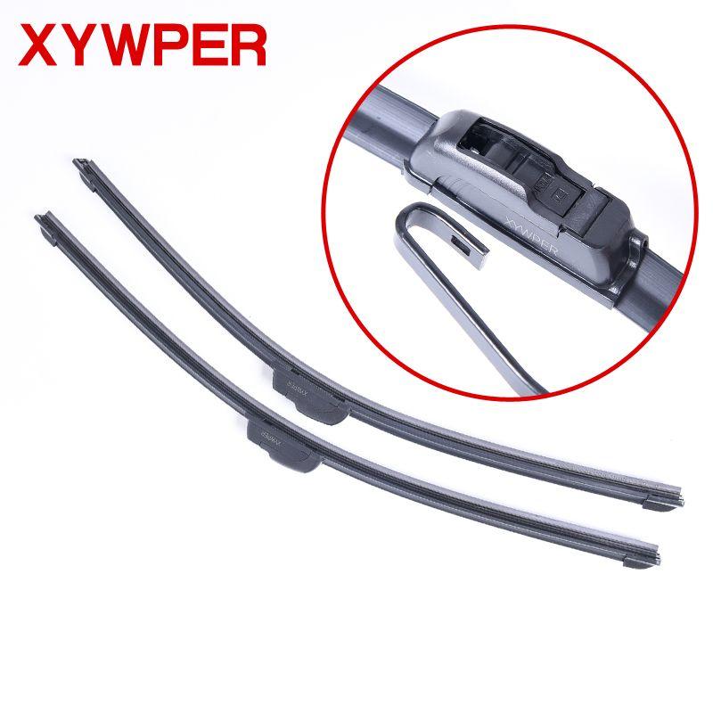 Car Windshield Wiper blades U-type Universal Soft Rubber Frameless Bracketless car wipers 14