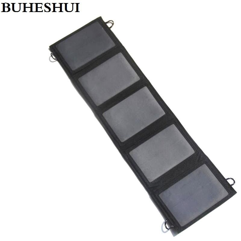 BUHESHUI 10W 5V Solar Charger Solar Panel Battery Charger For iphone Mobile Power Bank Charger Sunpower Panel Free Shipping