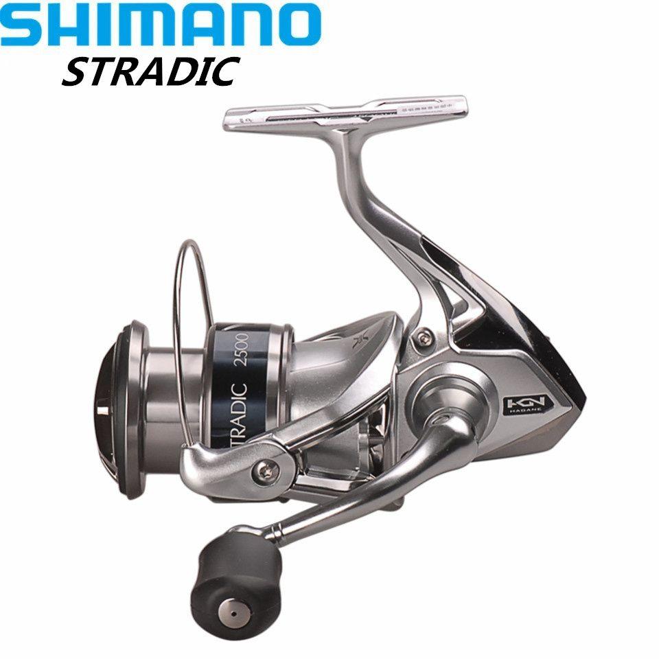 100% Shimano STRADIC FK2500HG/C3000HG/4000XG/C5000XG 6,0: 1/6. 2:1 Spinning Angelrolle HAGANE GETRIEBE Carretilha Moulinet Peche