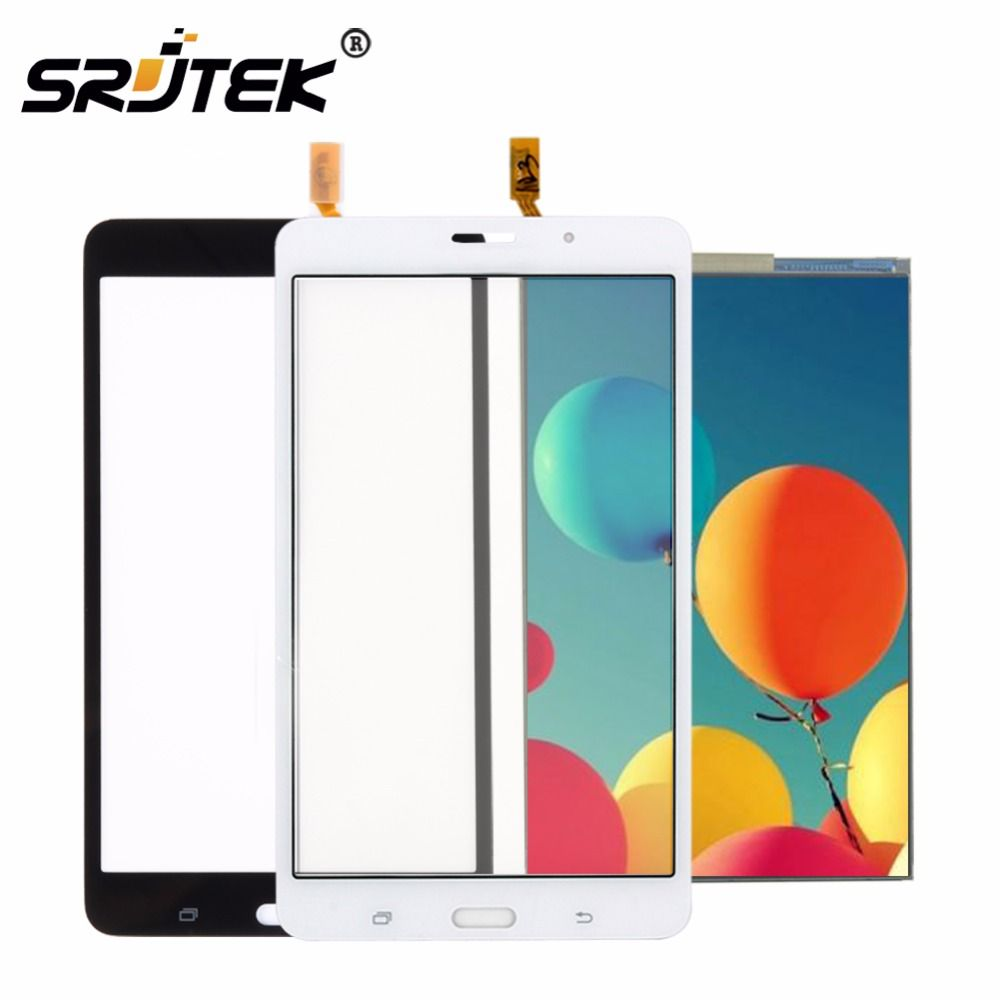 Srjtek 7'' For Samsung Galaxy Tab 4 7.0 T231 SM-T231 T230 SM-T230 Touch Screen LCD Display Matrix Panel Tablet Replacement Parts