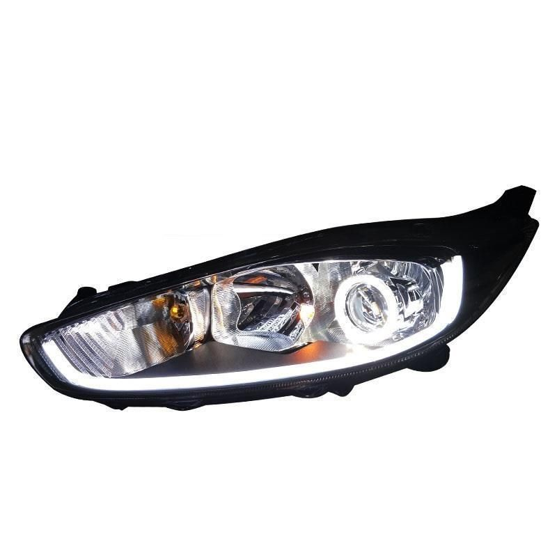 Drl Side Turn Signal Daytime Running Exterior Luces Led Para Auto Lamp Car Lighting Headlights Rear Lights For Ford Fiesta