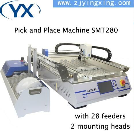 Affordable SMT Desktop Pick and Place Machine with Camera YINGXING SMT Production Line Energy-saving SMT Line