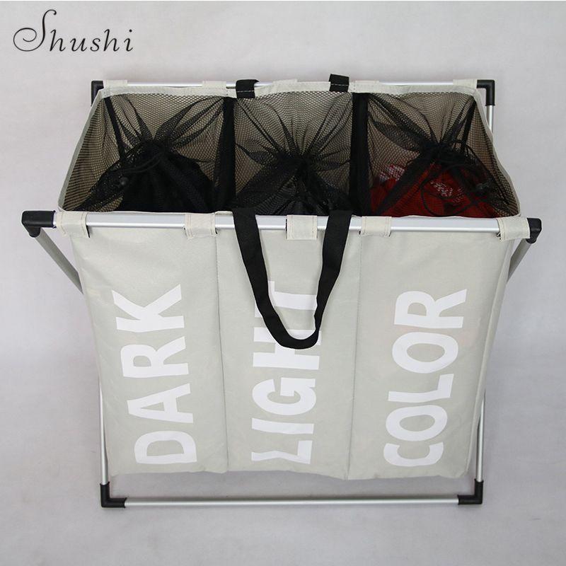 Dirty clothes basket Storage Organization laundry basket bathroom basket home office storage basket free shipping