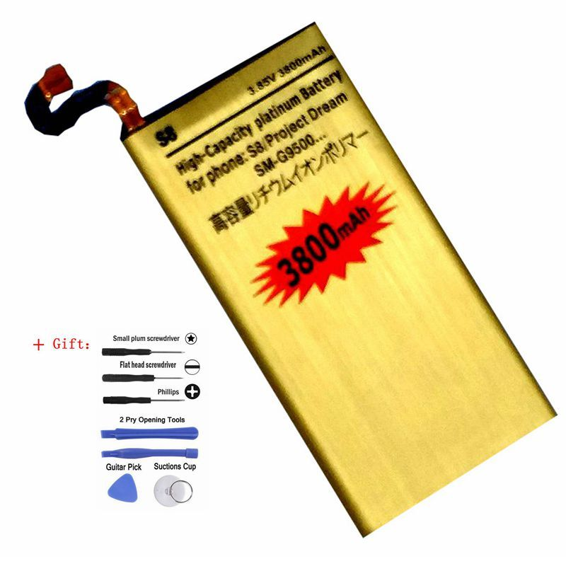 EB-BG950ABE Replacment Battery for Samsung Galaxy S8 project Dream SMG9500 G9508 G950U G950 G950F Internal Batteries Accumulator