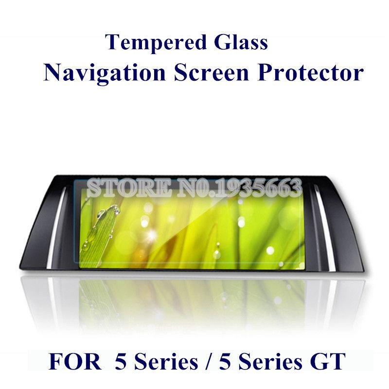 For BMW 5 Series F10 GT F07 2011-2015 Tempered Glass GPS Navigation Screen Protector 1pcs